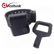 Cinturón de Pulsera de alarma Alarma de Rotura de AS110 para personal gps tracker GPS Prionser/anillo de delincuente Rastreador gps tracker GEO valla sos