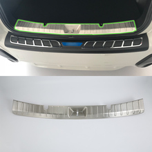 OUBOLUN stainless steel exterior car accessories inner rear bumper foot plate high quality For SUBARU XV 2017 abs car accessories car body kits exterior rear bumper foot plate 1pcs for 2018 mercedes benz vito