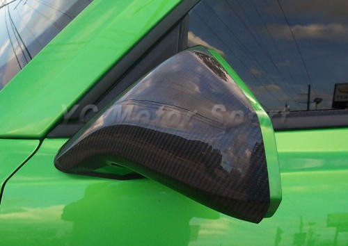 2010-2011 Chevrolet Camaro Mirror Cover Cap CF (5)