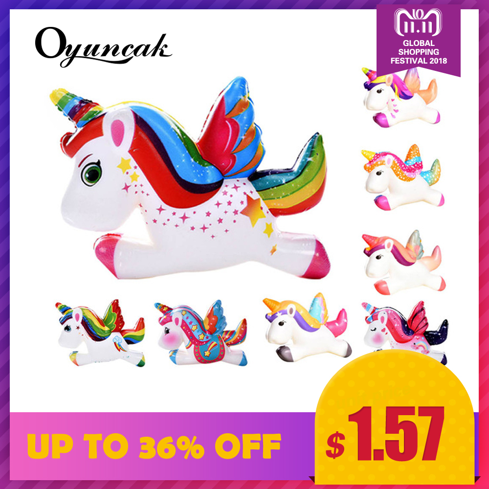 Oyuncak Squishy Unicorn Novelty Gag Toys Surprise Antistress Fun Squeeze Unicorn Squish Kawaii Anti Stress Jumbo Funny Gadgets oyuncak squishy unicorn novelty gag toys surprise antistress fun squeeze unicorn squish kawaii anti stress jumbo funny gadgets