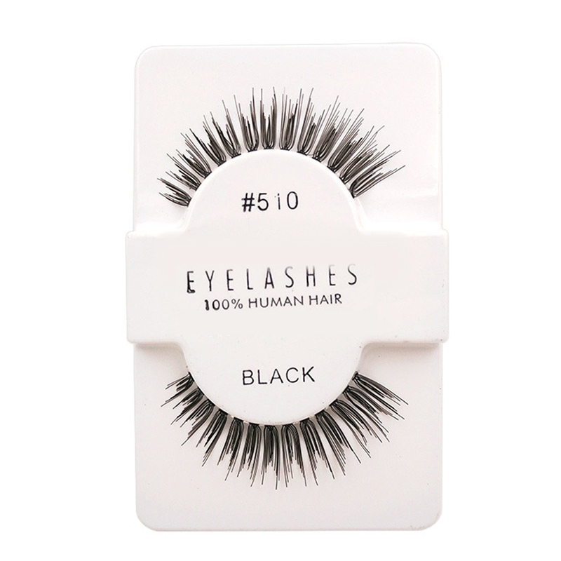 11 kinds of Handmade natural long 100% human hair false eyelashes professional make up fake eyelash extension lashes wimpern