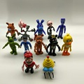 11cm 12pcs/set PVC Five Nights At Freddy's Action Figures Toys Foxy Freddy Fazbear Bear Doll gift