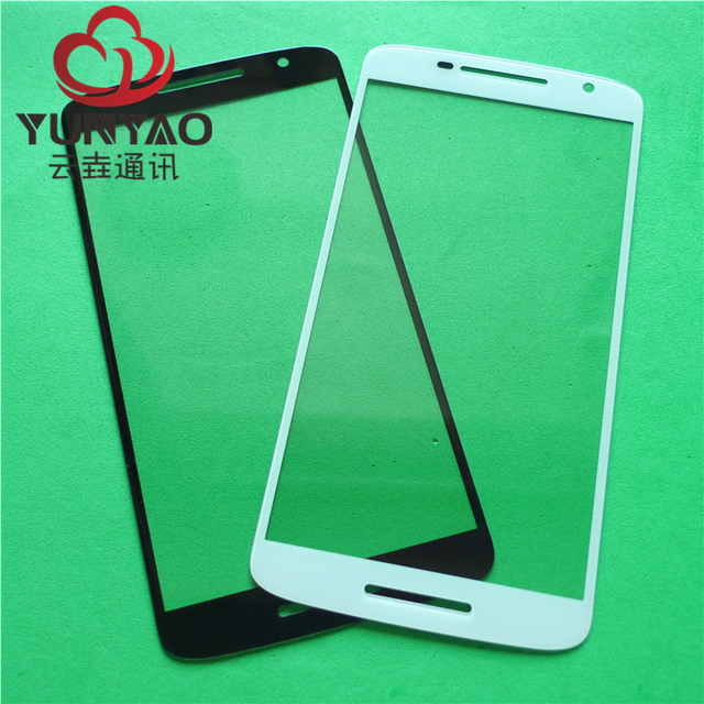 50pcs New Replacement LCD Front Touch Screen Glass Outer Lens For Motorola Moto X Play XT1561 1562 1563 1564 Droid Touch Screen
