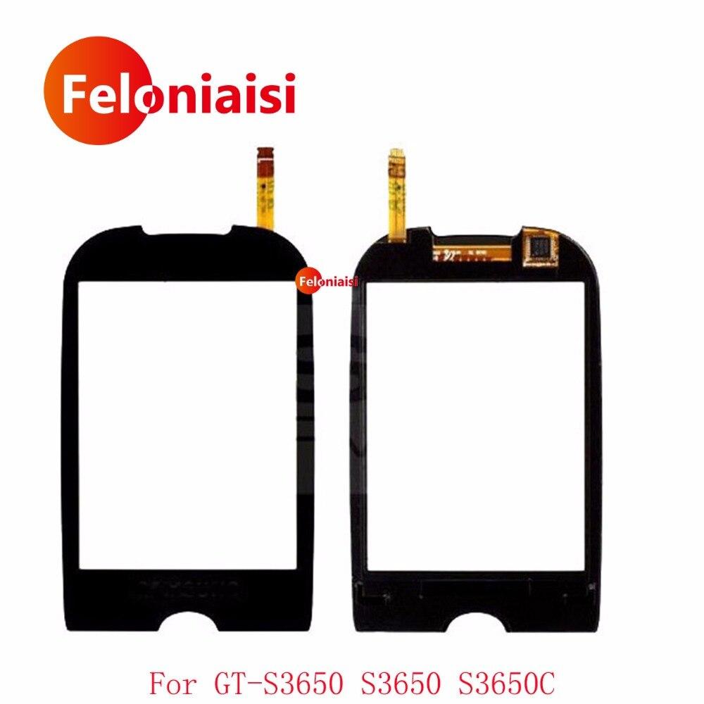 Haute Qualité 2.8 Pour Samsung Galaxy GT-S3650 S3650 S3650C Écran Tactile Digitizer Capteur Verre Externe Objectif Panneau + de Suivi