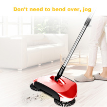 Magic Stainless Steel Sweeping Machine Hand Push Type Magic Broom Sweeper Floor Dustpan Vacuum Cleaning Tool For Home