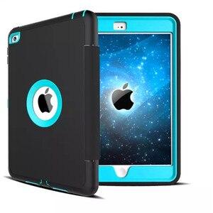 Image 3 - Для Apple iPad 2 ipad 3 ipad 4 Retina защита для детей противоударный сверхпрочный силиконовый Жесткий чехол с защитной пленкой для экрана
