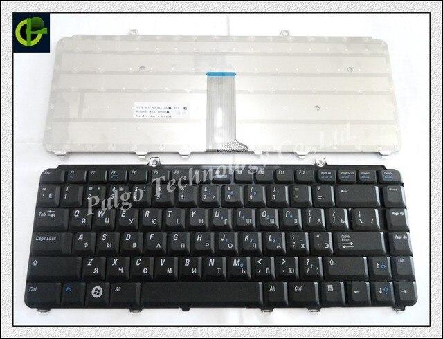 Новый Русский RU Клавиатура для Dell inspiron 1400 1520 1521 1525 1526 1540 1545 1420 1500 XPS M1330 M1530 PP29L M1550 Черный
