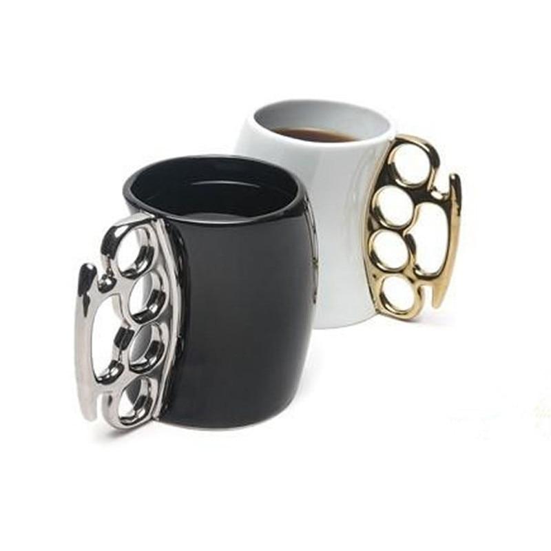 Boxing Style Ceramic Morning Mugs Creative Ceramic Coffe Tea Milk Cups Good Gift for Friends 350ml Funny Mug