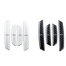 For NISMO Carbon fiber car door Scratch prevention Sticker for nissan GTR qashqai juke tiida note x-trail accessories