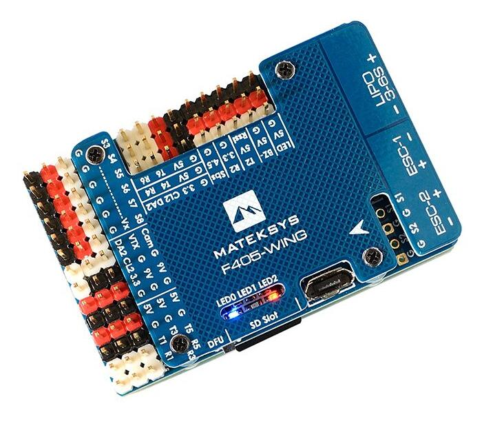 Matek Systems F405-WING F405 Flight Controller Built-in inverter for SBUS input RC Drone For RC Multicopter