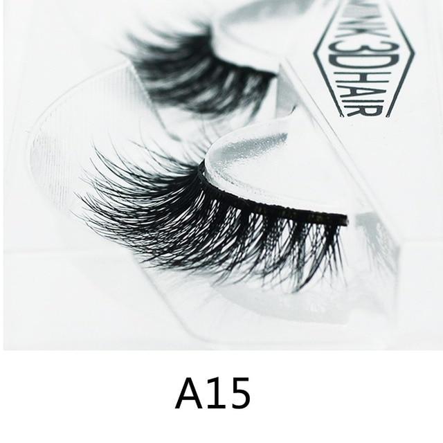Competitive Wholesale Free Eyelashes Samples Human Hair False