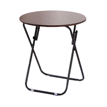 Домашний Складной стол многоцелевой небольшой квартирный складной стол обеденный стол круглый маленький круглый простой складной стол