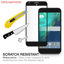 ФОТО 9h 2.5d full coverage tempered glass for google pixel 2 xl 2 explosion proof full cover screen glass film for google pixel xl 2