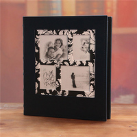 Leather family inserts photo album 5R7 inch large capacity baby couple to commemorate children's album