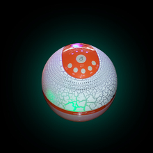 ZK20 NS-BZ7S Colorful LED lights humidifier wireless Bluetooth speaker card player mini stereo car subwoofer
