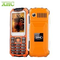 VKworld Stone V3S 32MB Elder Phone Daily Waterproof Shockproof Big BOX Speaker Dual LED Lights Russian Keyboard Cellphones