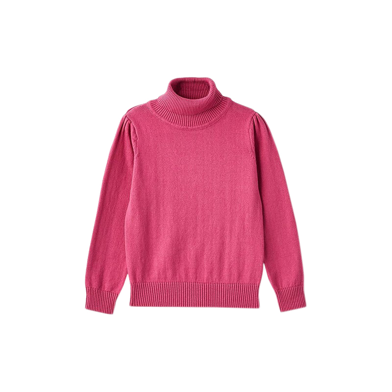Sweaters MODIS M182K00358 jumper sweater pullover for girls kids clothes children clothes TmallFS sweater girls yellow 80% wool knit clothes children child cardigan girl coats winter girl clothes kids sweaters toddler knitted