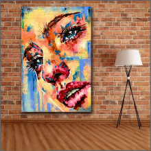 Buy sad painting and get free shipping on AliExpress com Free Shipping Printing pop art Sadness Painting Wall Art Picture Home Decor  Living Room Modern Canvas