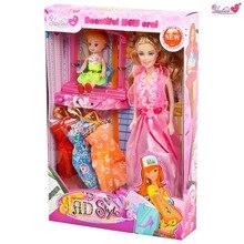 Детские игрушки, девушки играют в игрушки, DIY головоломки игрушки, детские куклы, подарок из девушек