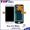 Для Samsung Galaxy S4 Mini I9190 i9192 i9195 ЖК-Дисплей с Сенсорным Экраном с Дигитайзер + Бесплатные Инструменты и Закаленное Стекло