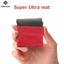 ФОТО koraman brand portable ultra-thin folding camping pad pocket blanket camping waterproof blanket outdoor picnic mat free beachmat