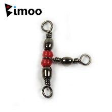 Bimoo 50 шт латунные 3 ходовые вращающиеся Вертлюги морская