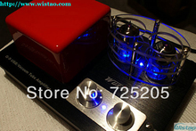 2x15W HIFI Hybrid Tube Amplifier 6C3 Tubes Pre-amplifier 20Bit/192KHz Decoder Support U Disc SD Card APE FLAC WAV WMA Lossless