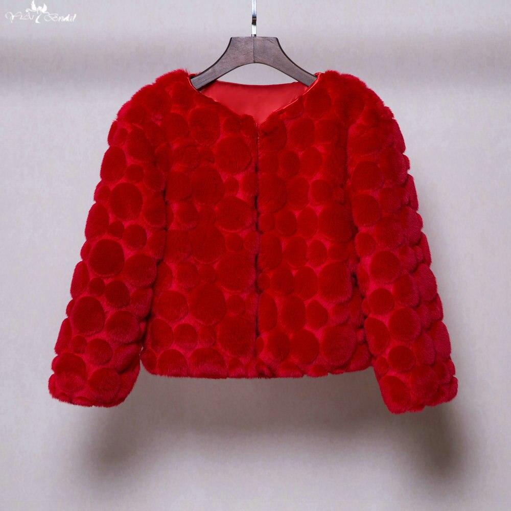 Bolero Rouge Mariage se rapportant à ta091 chaud circulaire motif rouge en fausse fourrure bolero pour