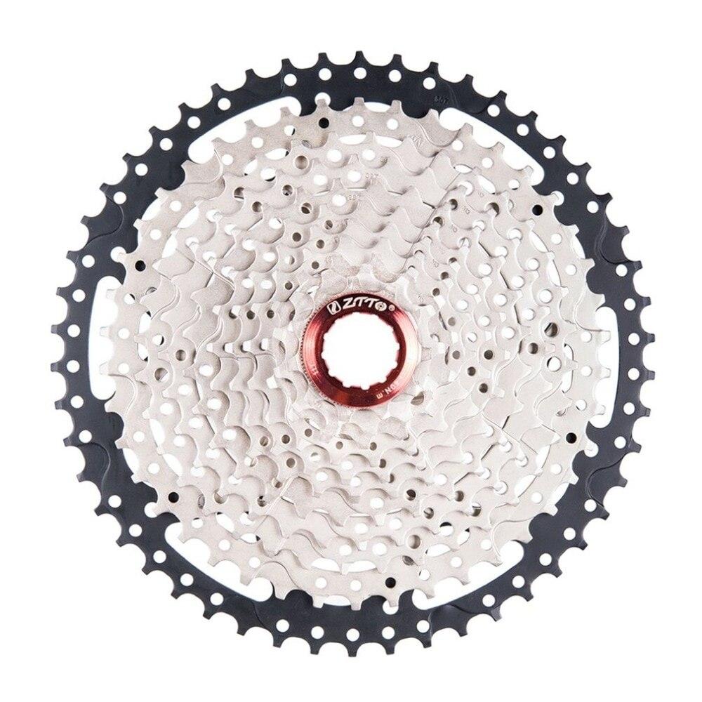 ZTTO 11 vitesses Cassette 11-50 T Compatible vélo de route système Sram haute résistance en acier pignons pliant noir argent engrenage