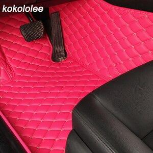 Image 3 - מותאם אישית שטיח רצפת רכב עבור טויוטה לנד קרוזר 100 200 RAV4 לנד קרוזר פראדו 120 150 קאמרי 40 50 קורולה e120 e150 רכב רגל מחצלות