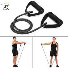 120 см, тянущаяся веревка для йоги, эластичные резинки для фитнеса, веревка, резинки для тренажеров, экспандер для упражнений, пробки для тренировок
