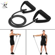 120cm Yoga Pull Rope Elastic Resistance Bands Fitness Rubber for Equipment Expander Exercise Tube Training