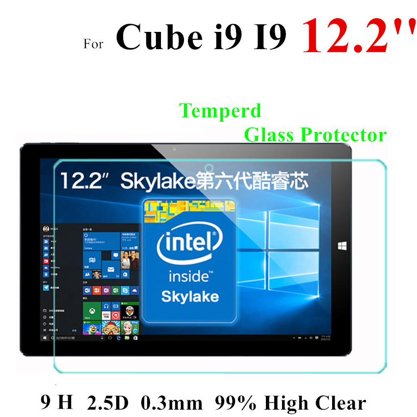 I9 Glass Screen Protector For Cube i9 12 2 Tempered glass screen Protector 2 5D High