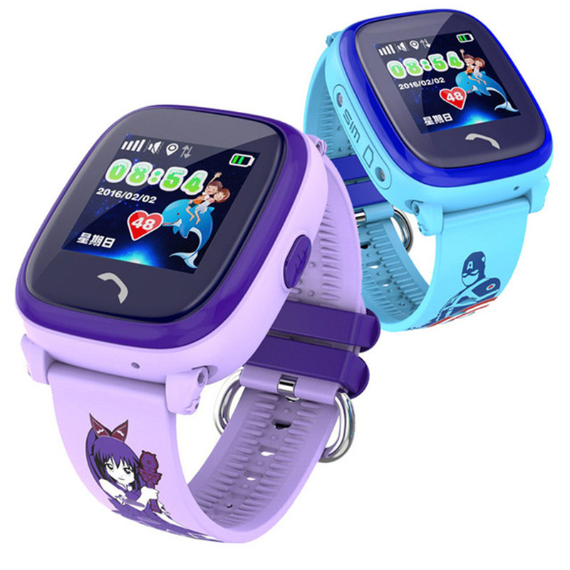 Smart Watch Waterproof GPS Kids Watch Clock SOS Call Location Device Tracker Children Safe Anti-Lost Monitor pk Q50 Q90 Q60 все цены