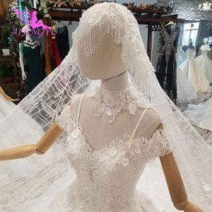Image 3 - AIJINGYU vestido de boda tul Suiza Medieval fiesta bola tamaño Plus hermoso compromiso Sexy vestidos de novia simples