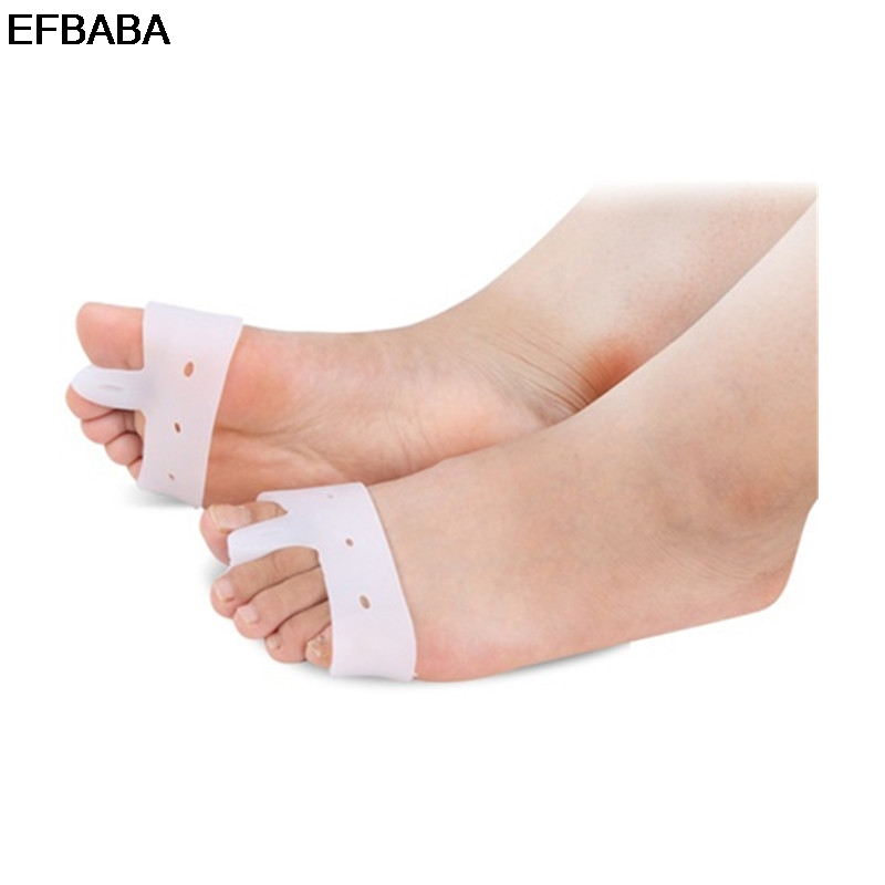 EFBABA Pads Gel Cushions Orthopedic Insoles Silicone Insole Hallux Valgus Correction Toe Separated Breathable Shoe Insole Insert expfoot orthotic arch support shoe pad orthopedic insoles pu insoles for shoes breathable foot pads massage sport insole 045
