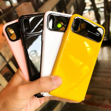 Shockproof Tempered Glass Mirro Case for iPhone 7 7Plus 8 8Plus 6s Plus Cover Coque XS MAX XR X