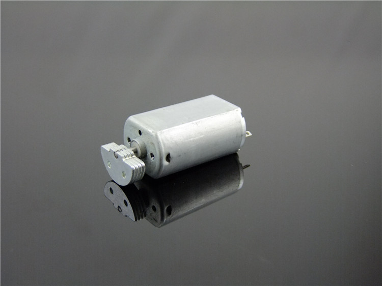 2pcs D Shape Shaft Cylinder Electric Mini Vibration Motor 5200RPM 3VDC