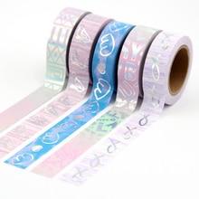 1X Foil Paper Washi Tape Set Japanese Scrapbooking Decorative Tapes Honeycomb For Photo Album Home Decoration 1x com photo inspiration secrets behind stunning images