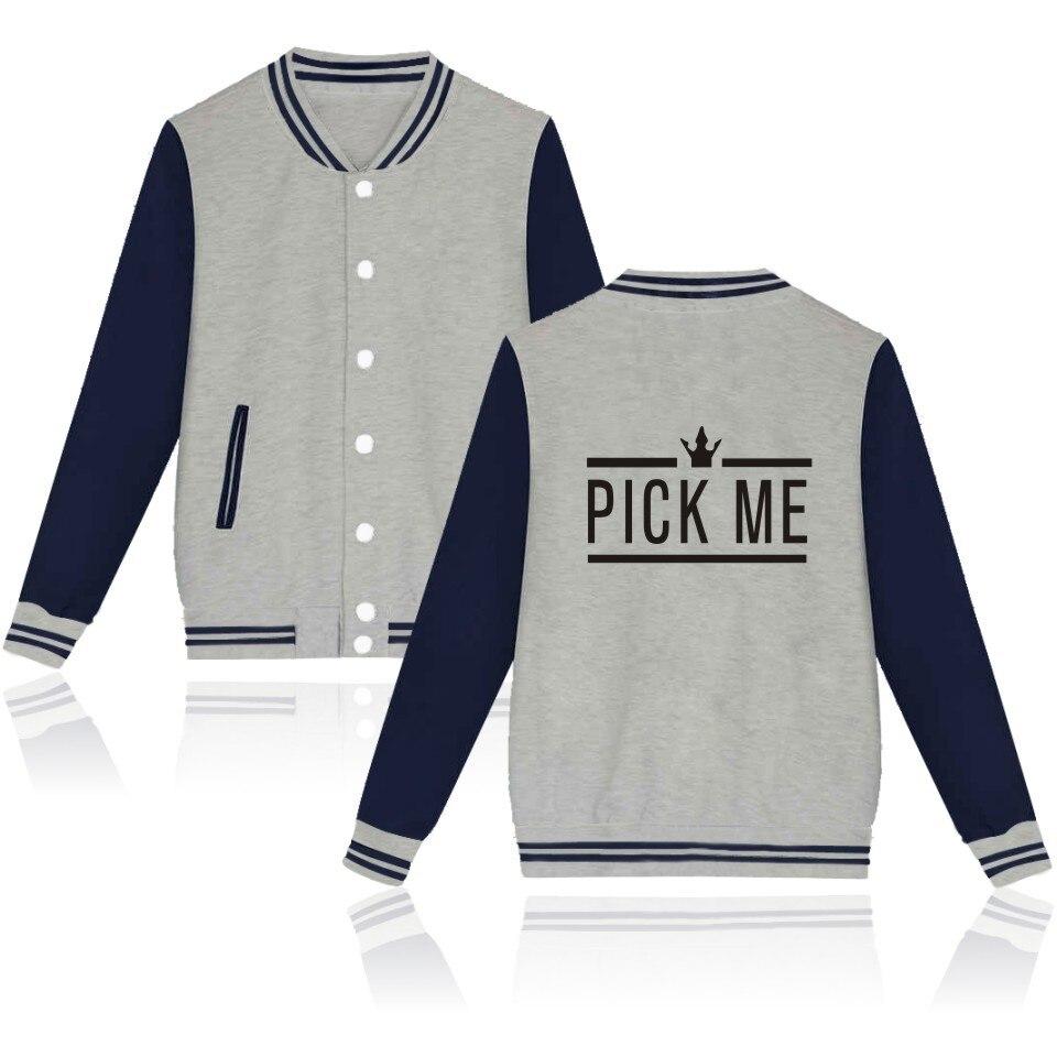 Producet 101   jacket   Hot Sale New Fashion Brand baseball jacke Autumn winter Warm   basic     jackets   Producet 101