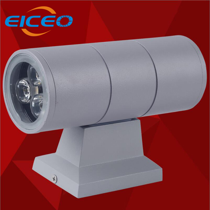 (EICEO) 9w*2 Sale Real Light Package Mail Outdoor LED Wall Lamp Hotel Single Head Waterproof Exterior Covers Balcony Garden
