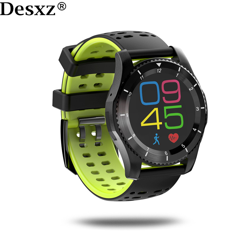 Desxz Smart Watch Sport Bluetooth Support Blood Pressure Heart Rate sim Card GPS for IOS Android Russian Spanish jaysdarel heart rate blood pressure monitor smart watch no 1 gs8 sim card sms call bluetooth smart wristwatch for android ios
