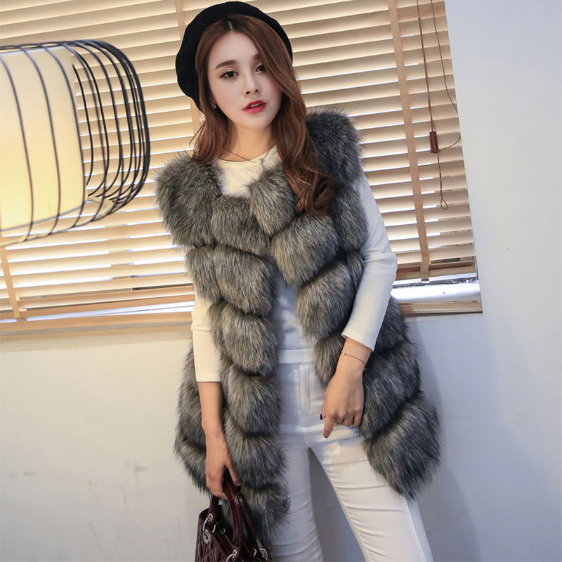 2018 Mommy and me vest / Faux fur vest / 9 colors are available цена 2017