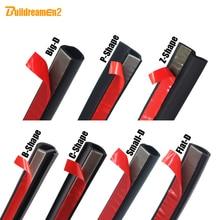 Buildreamen2 Für Peugeot 407 607 301 408 508 Auto Styling Tür Hood Trunk Dichtungsdichtung Streifen Dichtkante Schalldämmung