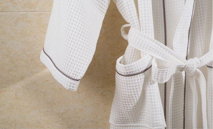 Women\'s Mid-Calf Cotton Sleep Lounge Robes RBS-D RB26 15