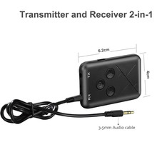 2 in 1 Bluetooth V4.2 Audio Transmitter Receiver Wireless