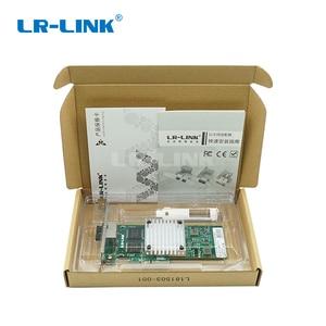 Image 4 - LR LINK 9712HT Çift Bağlantı Noktalı Gigabit Ethernet Lan Kartı Pci express Ağ Kartı RJ45 adaptörü 10/100/1000 mb Intel I350 T2 Uyumlu