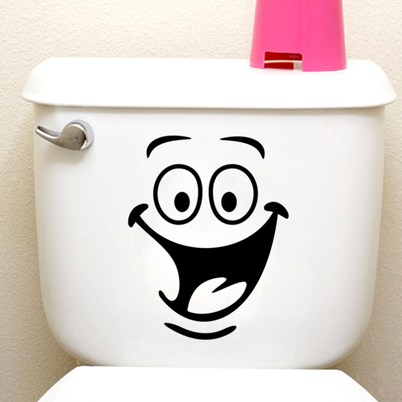 Big Mouth Toilet Stickers Wall Decorations 342. Diy Vinyl Adesivos De  Paredes Home Decal Mual