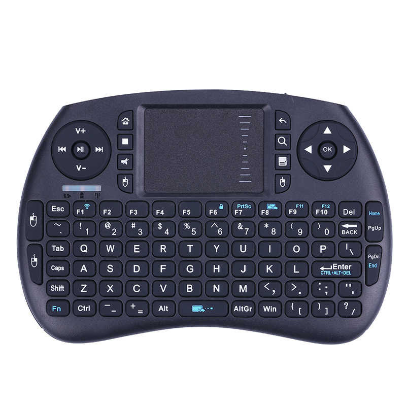 Terbaru Wireless Air Mouse 2.4GHz Mini Keyboard Gaming Remote Control untuk Android TV Box