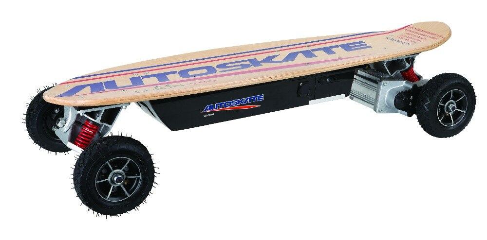 Électrique planche à roulettes 4 roues 600 W brosse moteur électrique scooter télécommande Max vitesse 30 km/h pour unisexe LIVRAISON GRATUITE